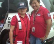 Francisca Herrera, left, and another Regional volunteer respond to a DAT call.