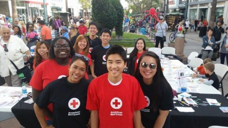 Did you know that the Red Cross also trains young people to help out in their own communities?