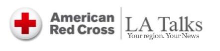 Red Cross LA Talks logo