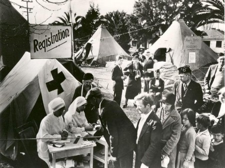 Centennial Flashback: Chapter Helps Earthquake Victims Since 1925