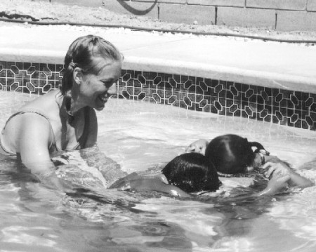 Centennial Flashback: Teaching water safety in the 1970s and '80s through backyard swim programs