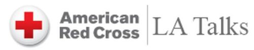 Red Cross LA Talks logo