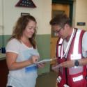 Real Life Training Prepares Volunteer