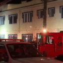 Red Cross Volunteers Respond after Grace Hotel Fire in Long Beach